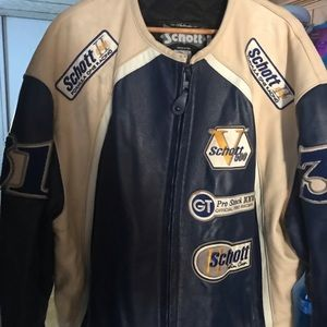 Authentic Schott motorcycle jacket